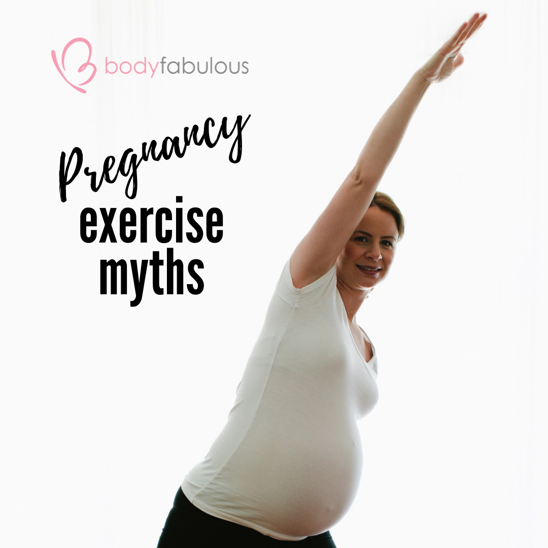 Myths about Pregnancy Fitness.