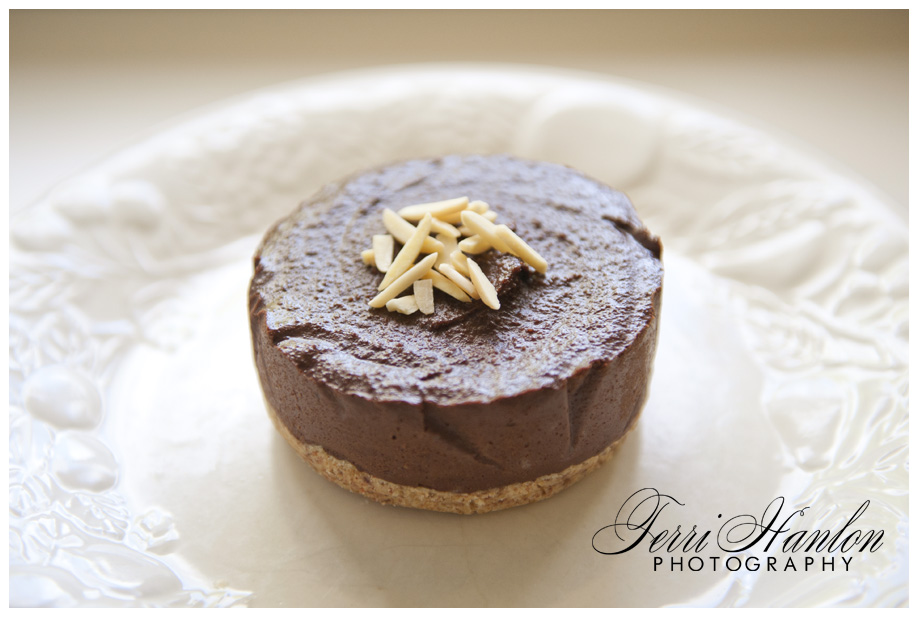 triple choc paleo cheesecake
