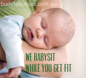 babysit_while you get fit