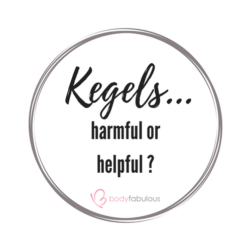 Are Kegels Ok ?