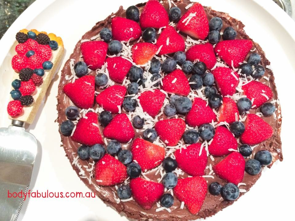 Chocolate Hazelnut Tart - Raw