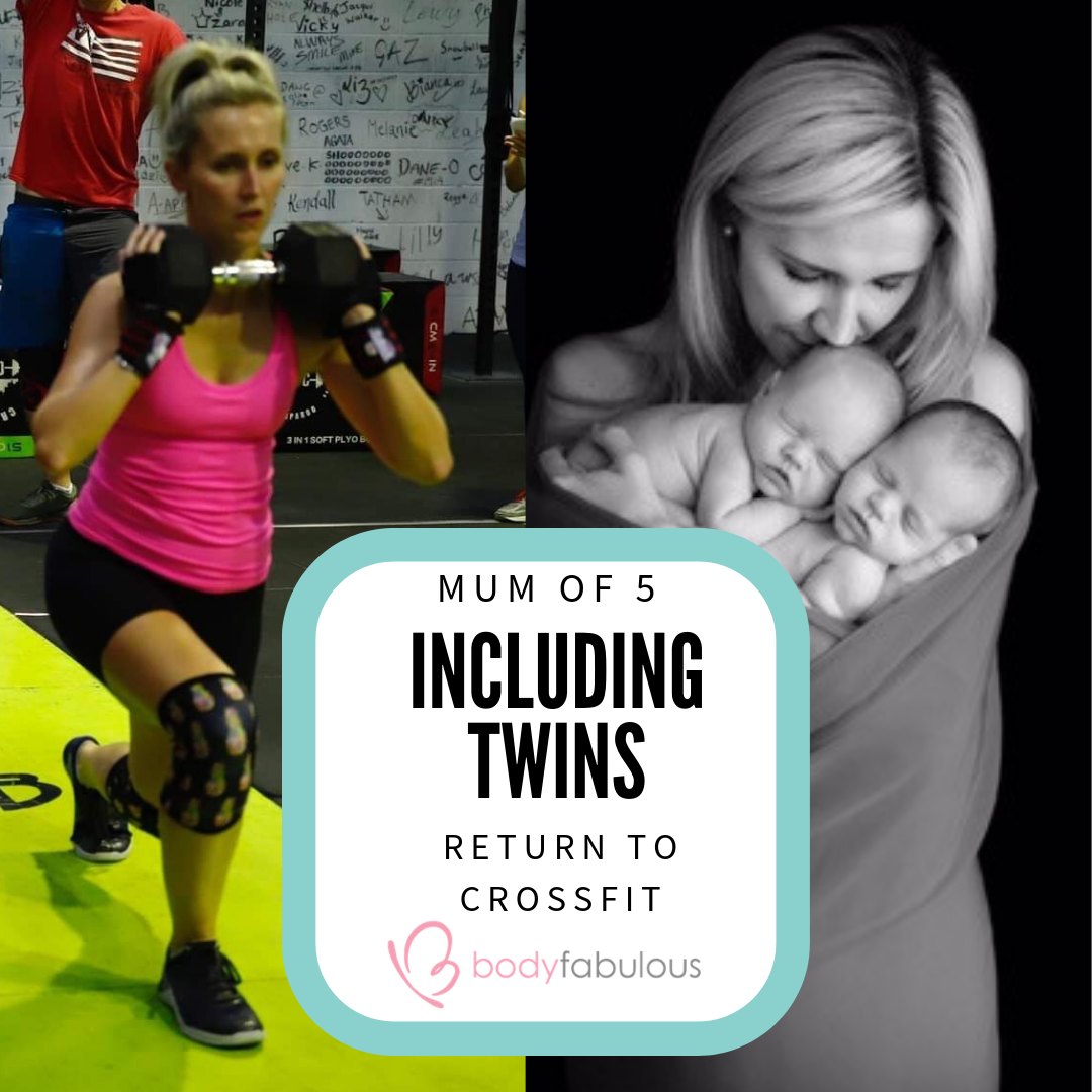 Mum of 5 RETURNS TO CROSS FIT