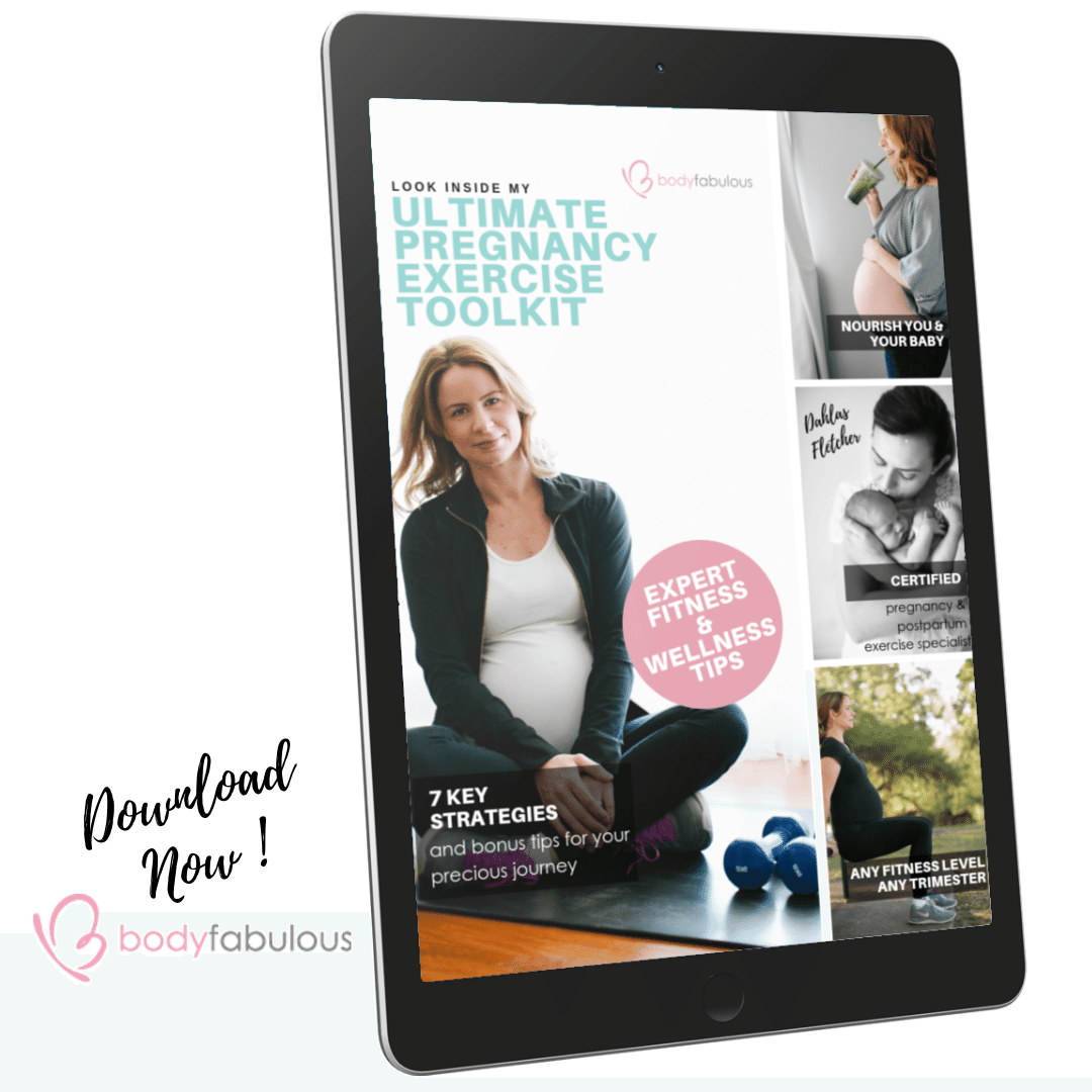 PREGNANCY EXERCISE TOOL KIT