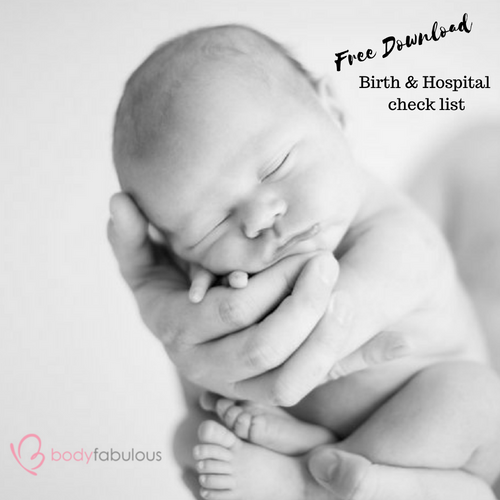 The Essential BIRTH & HOSPITAL check list