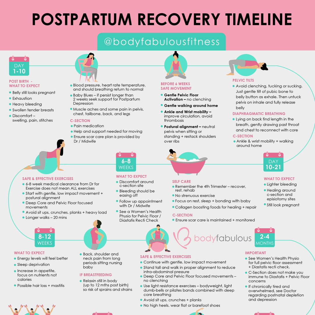 POSTNATAL TIMELINE DOWNLOAD