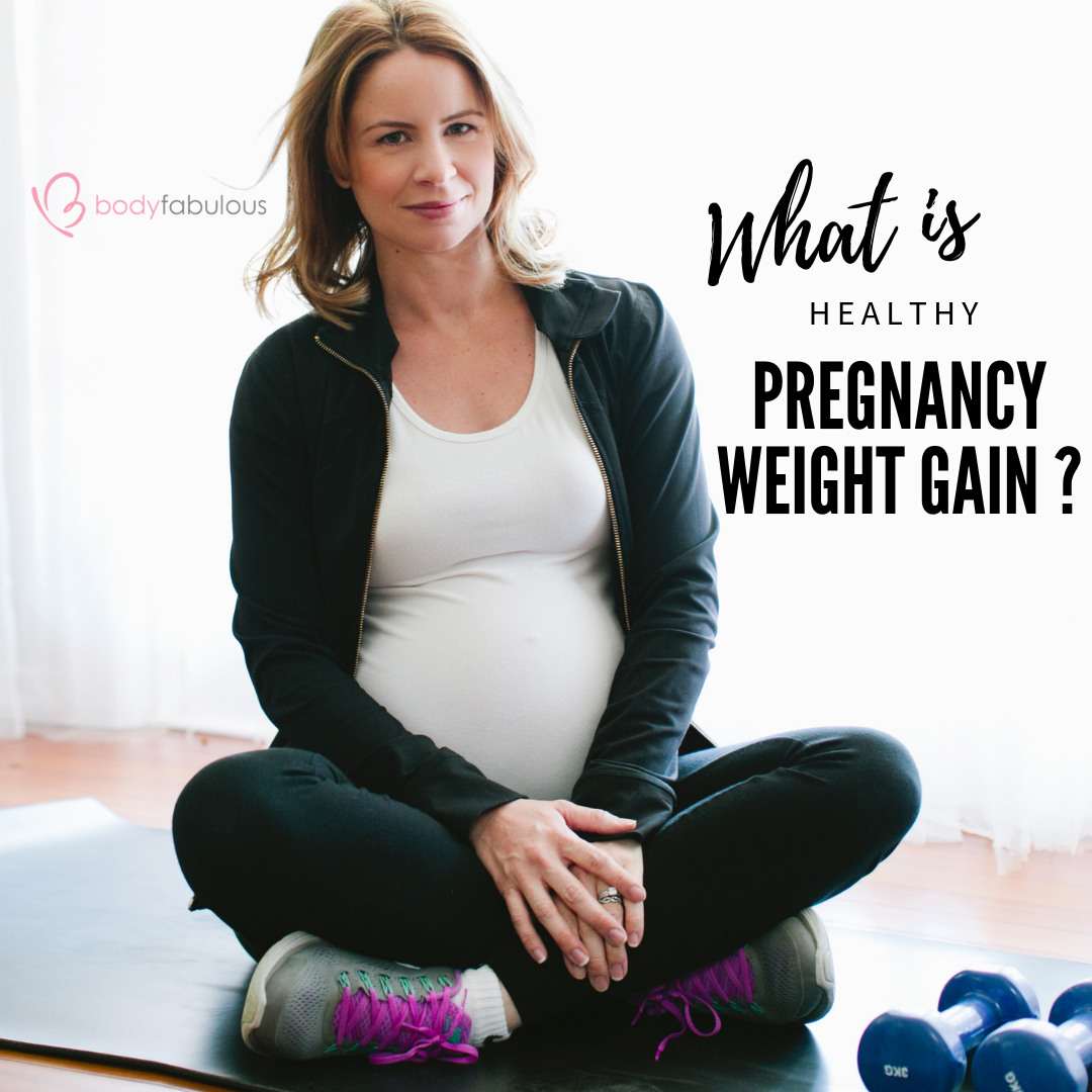 Worried about PREGNANCY WEIGHT GAIN ?