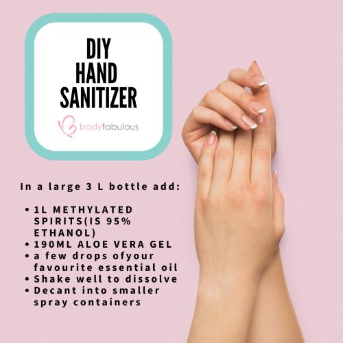 DIY HAND SANTIZER