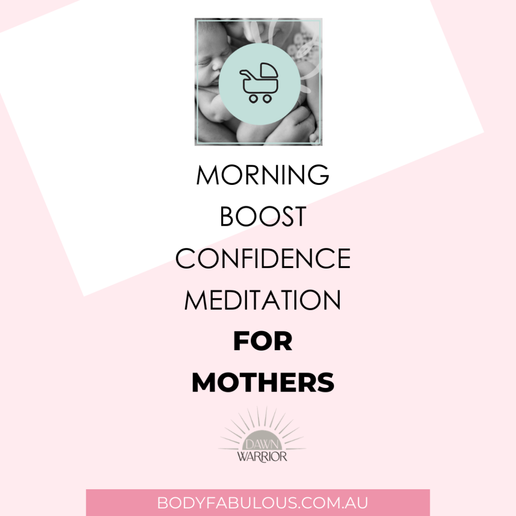 confidence mediation for mothers